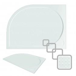 Asymetrická čtvrtkruhová sprchová vanička LAKA