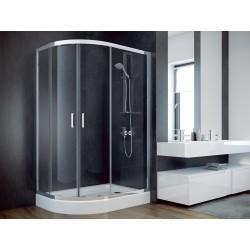 Sprchový asymetrický kout MODERN 185