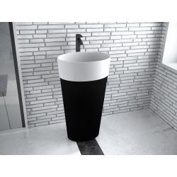 Volně stojící umyvadlo UNIQA Black&White