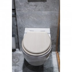 WC sedátko OAK WHITE