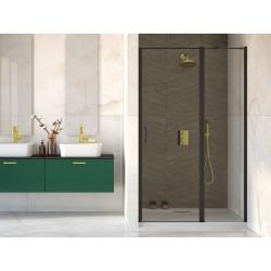 Bezrámové sprchové dveře EXO-C BLACK