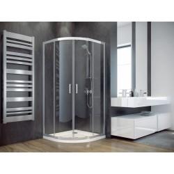 Čtvrtkruhový sprchový kout MODERN 165