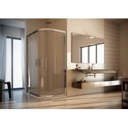 Čtvrtkruhový atypický sprchový kout GIANO