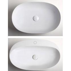 Umyvadlo na desku CIRCLE 40/60/70/90 cm