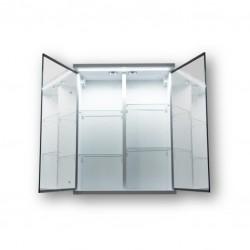 Vrchní zrcadlová skříňka NICE s LED osvětlením
