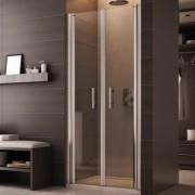 Sprchové dveře kombinovatelné s pevnými stěnami