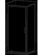 Sprchové kouty členěné dle tvaru - čtvercové kouty