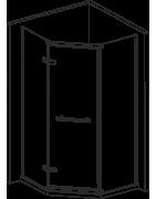 Speciální a atypické tvary sprchových koutů