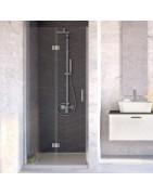 Sprchové zalamovací dveře do koupelny