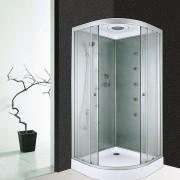 masážní box pro maximální komfort sprchy i masáže.